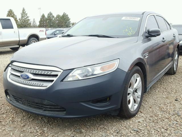 1FAHP2EW4BG174676 - 2011 FORD TAURUS GRAY photo 2