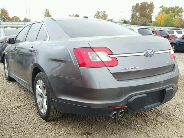 1FAHP2EW4BG174676 - 2011 FORD TAURUS GRAY photo 3