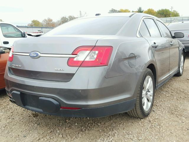 1FAHP2EW4BG174676 - 2011 FORD TAURUS GRAY photo 4