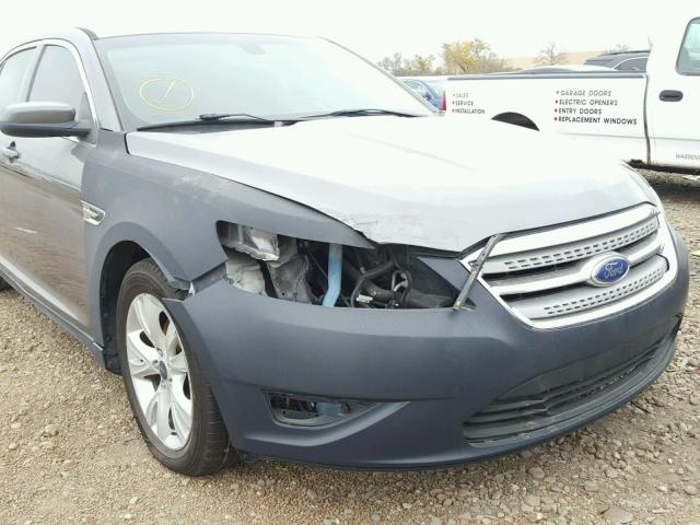 1FAHP2EW4BG174676 - 2011 FORD TAURUS GRAY photo 9