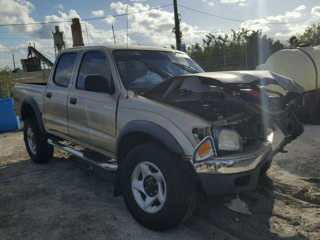 5TEGM92N92Z022663 - 2002 TOYOTA TACOMA GOLD photo 1