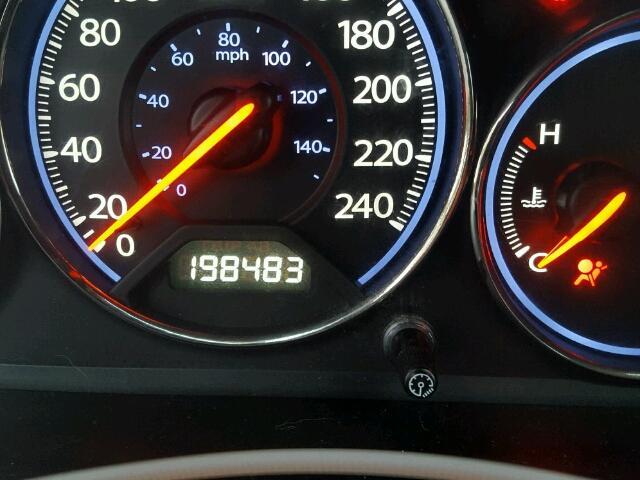 2HGES16653H919043 - 2003 HONDA CIVIC LX BLACK photo 8