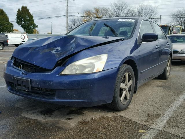 JHMCM56673C046694 - 2003 HONDA ACCORD EX BLUE photo 2