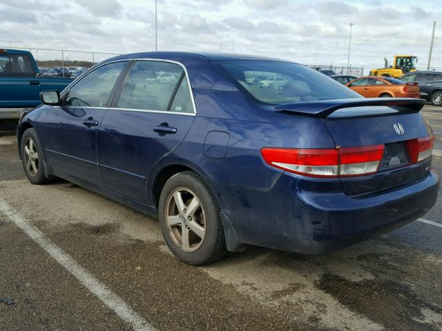 JHMCM56673C046694 - 2003 HONDA ACCORD EX BLUE photo 3