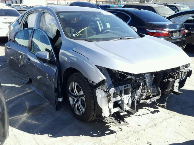 2HGFC2F50HH558522 - 2017 HONDA CIVIC LX SILVER photo 1