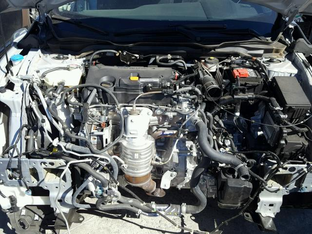 2HGFC2F50HH558522 - 2017 HONDA CIVIC LX SILVER photo 7