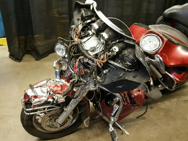 1HD1FCW176Y644429 - 2006 HARLEY-DAVIDSON FLHTCUI MAROON photo 9
