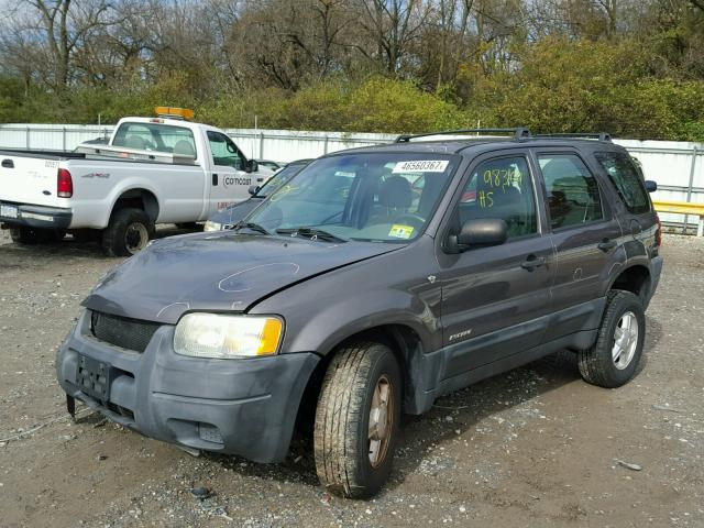 1FMYU02142KC38370 - 2002 FORD ESCAPE XLS GRAY photo 2