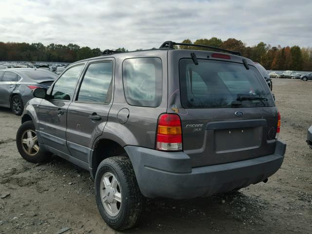 1FMYU02142KC38370 - 2002 FORD ESCAPE XLS GRAY photo 3