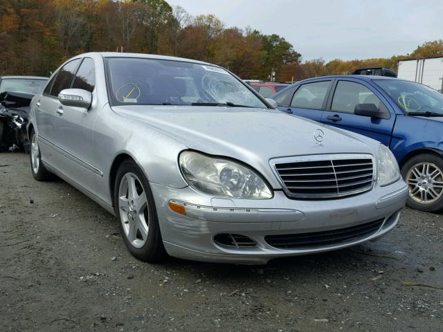 WDBNG75J75A456606 - 2005 MERCEDES-BENZ S 500 SILVER photo 1