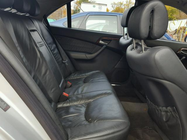 WDBNG75J75A456606 - 2005 MERCEDES-BENZ S 500 SILVER photo 6