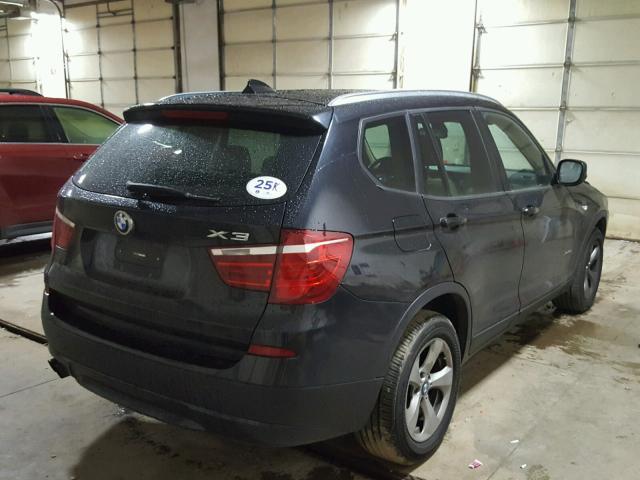 5UXWX5C54BL702106 - 2011 BMW X3 XDRIVE2, BLACK - price history ...
