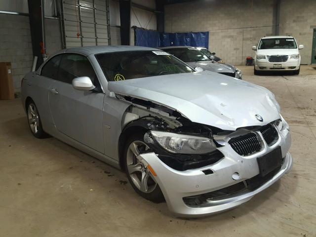 WBADX7C50CE745784 - 2012 BMW 335 I SILVER photo 1