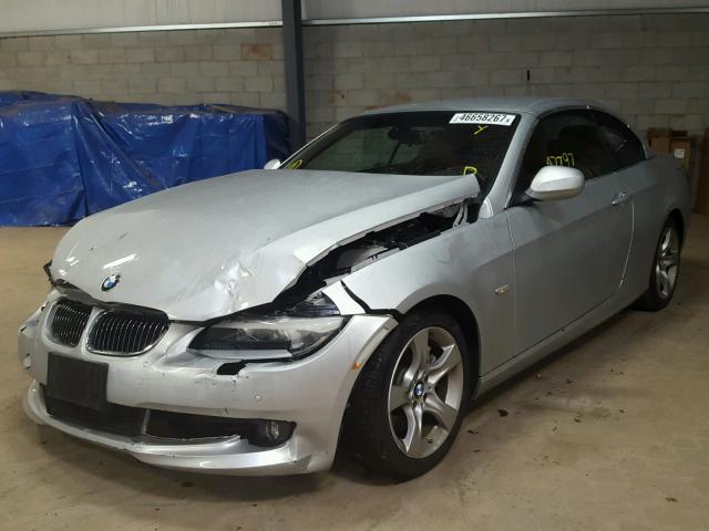 WBADX7C50CE745784 - 2012 BMW 335 I SILVER photo 2
