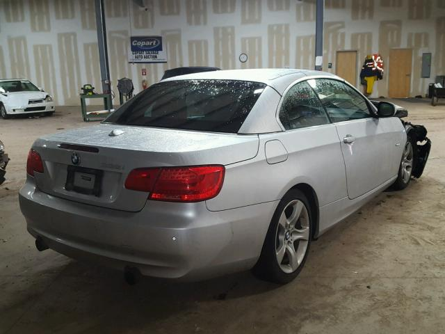 WBADX7C50CE745784 - 2012 BMW 335 I SILVER photo 4