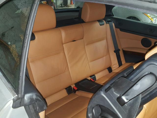 WBADX7C50CE745784 - 2012 BMW 335 I SILVER photo 6