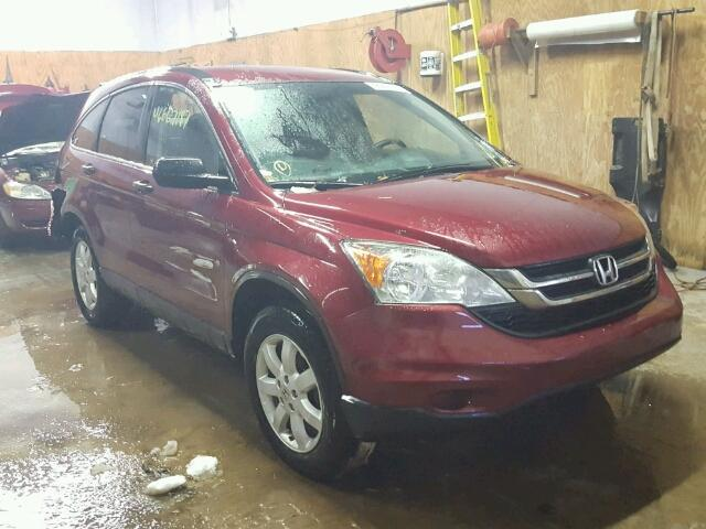 5J6RE4H44BL122931 - 2011 HONDA CR-V SE RED photo 1