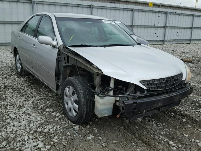 4T1BE32K03U256433 - 2003 TOYOTA CAMRY LE SILVER photo 1