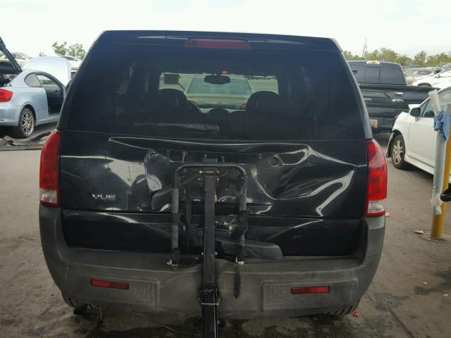 5GZCZ23D25S856939 - 2005 SATURN VUE BLACK photo 10