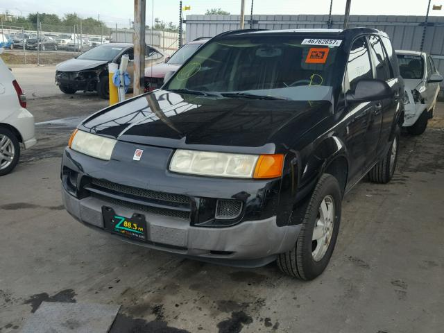 5GZCZ23D25S856939 - 2005 SATURN VUE BLACK photo 2