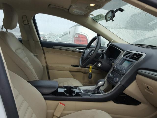 3fa6p0hd2er164408 2014 Ford Fusion Se White Price History Photo 5