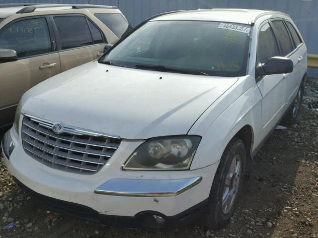 2C8GF68434R644593 - 2004 CHRYSLER PACIFICA WHITE photo 2