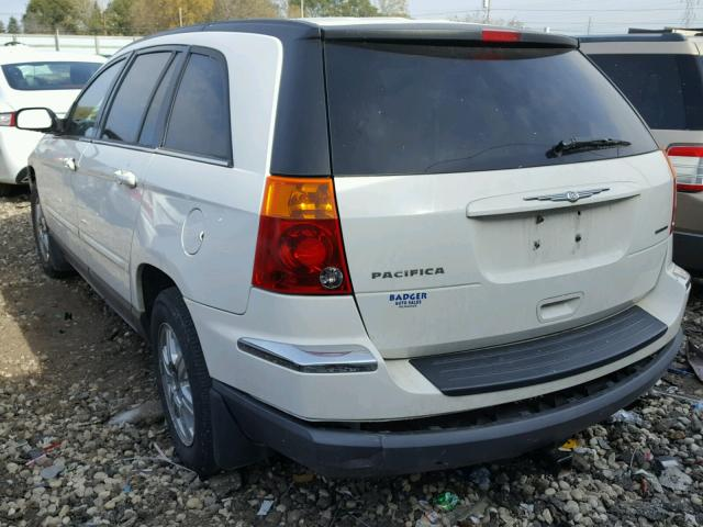 2C8GF68434R644593 - 2004 CHRYSLER PACIFICA WHITE photo 3