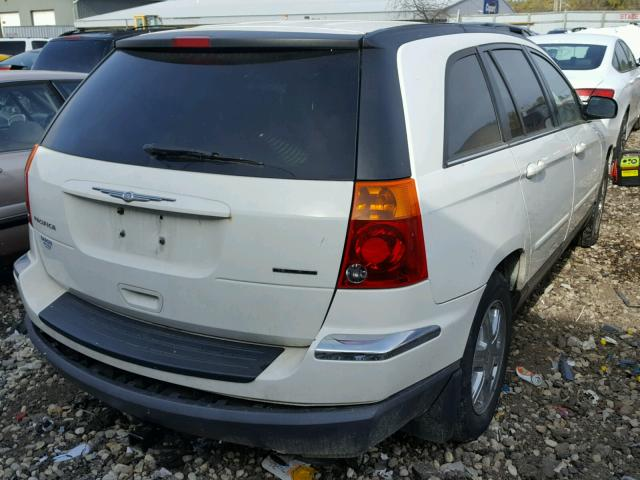 2C8GF68434R644593 - 2004 CHRYSLER PACIFICA WHITE photo 4