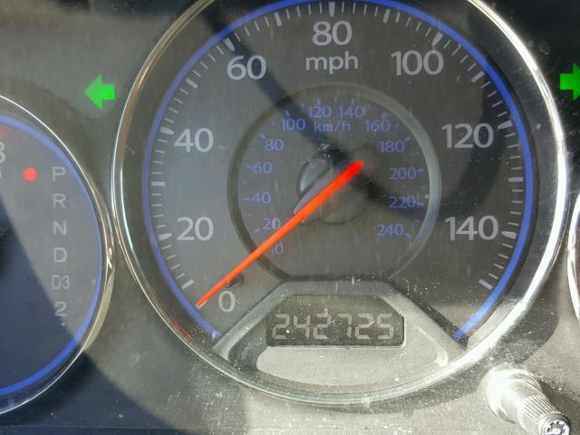 2HGES16525H593194 - 2005 HONDA CIVIC LX GRAY photo 8