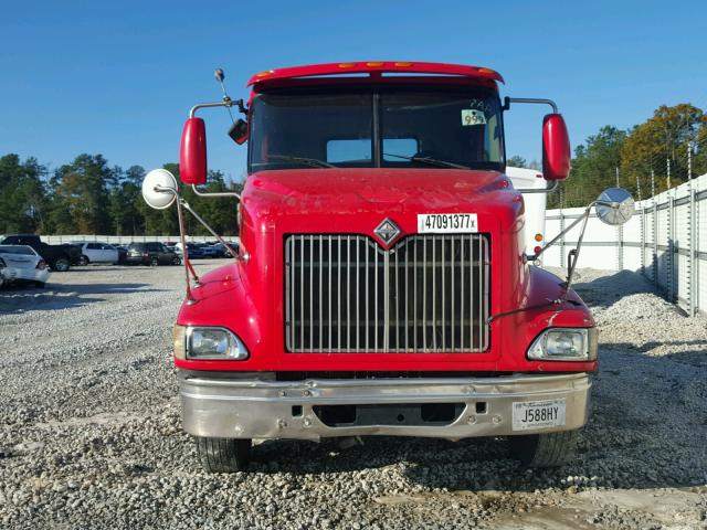 2HSCEAPR77C445015 - 2007 INTERNATIONAL 9200 9200I RED photo 9