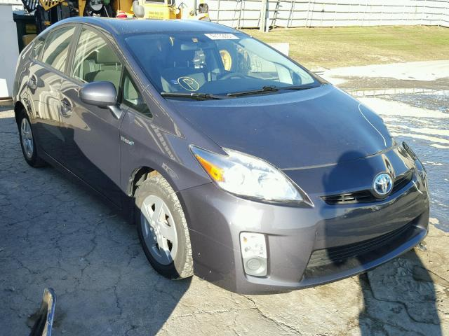 JTDKN3DUXA0242756 - 2010 TOYOTA PRIUS GRAY photo 1