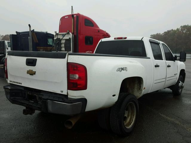 1GCJK336X8F165188 - 2008 CHEVROLET SILVERADO WHITE photo 4