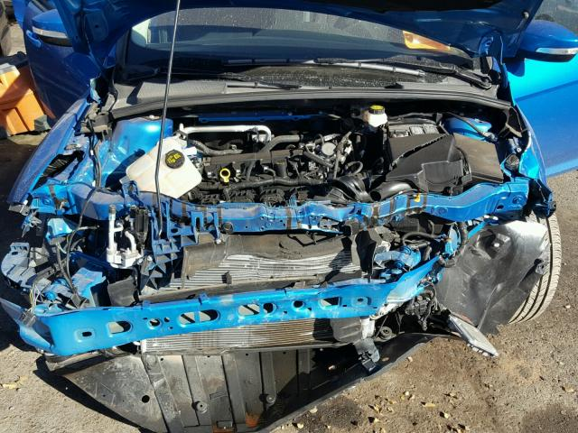 1FADP3K27HL235749 - 2017 FORD FOCUS SE BLUE photo 7