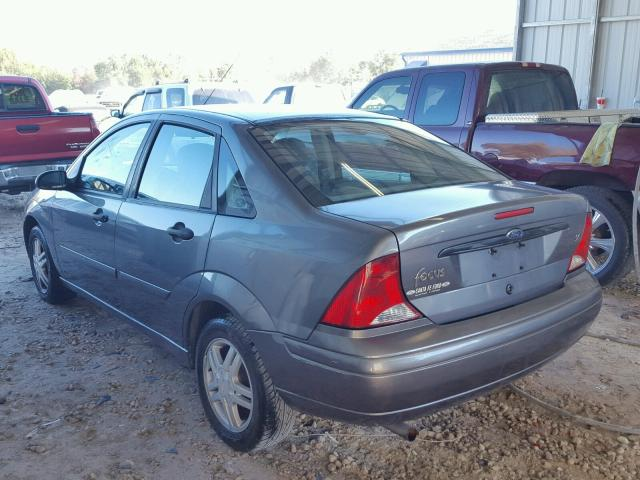 1FAFP34373W311492 - 2003 FORD FOCUS SE C GRAY photo 3