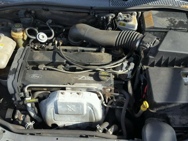 1FAFP34373W311492 - 2003 FORD FOCUS SE C GRAY photo 7