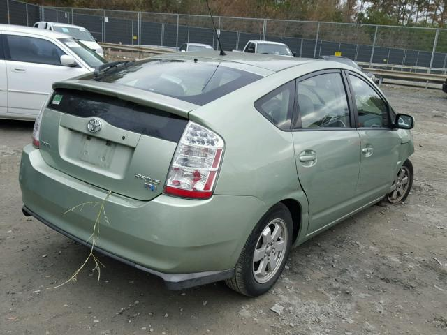 JTDKB20U493477544 - 2009 TOYOTA PRIUS GREEN photo 4