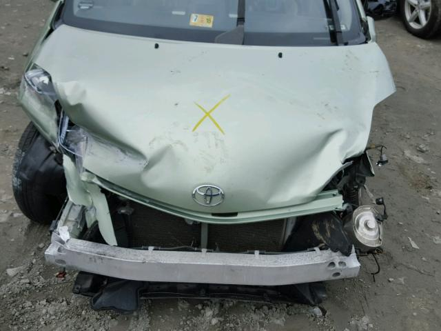 JTDKB20U493477544 - 2009 TOYOTA PRIUS GREEN photo 7