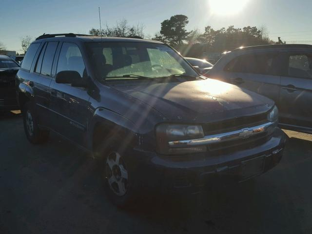 1GNDT13S222527404 - 2002 CHEVROLET TRAILBLAZE BLUE photo 1