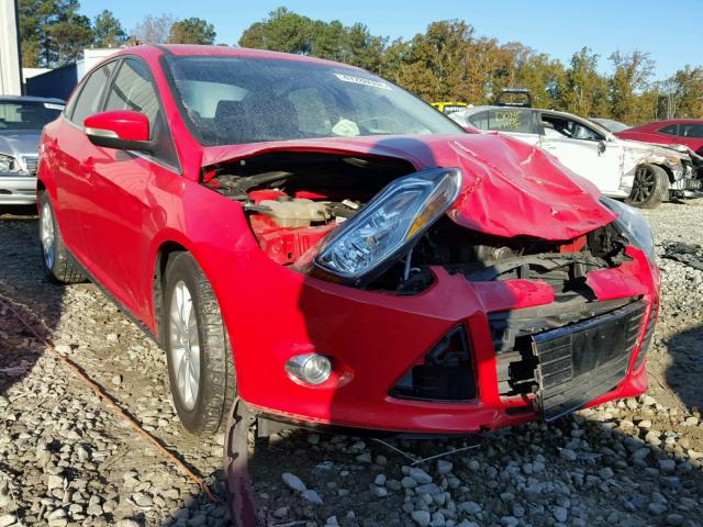 1FAHP3H26CL430923 - 2012 FORD FOCUS SEL RED photo 1