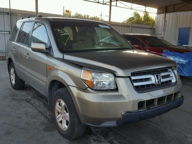 5FNYF28248B025810   2008 HONDA PILOT VP TAN Photo 1