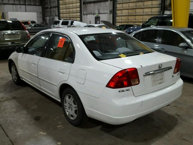 2hges16592h503762 2002 honda civic lx white price history history of past auctions prices. Black Bedroom Furniture Sets. Home Design Ideas