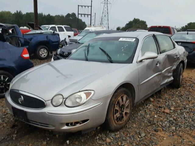 2G4WC582571223259 - 2007 BUICK LACROSSE C SILVER photo 2