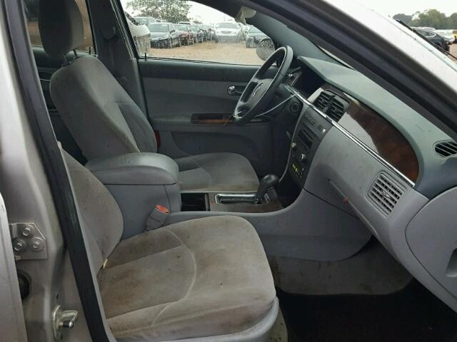 2G4WC582571223259 - 2007 BUICK LACROSSE C SILVER photo 5