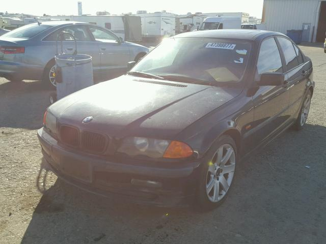 WBAAV33451FU94146 - 2001 BMW 325 I BLACK photo 2