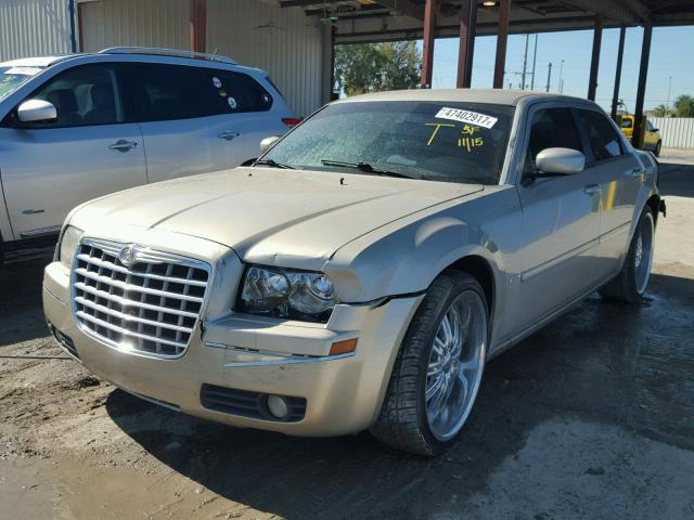 2C3JA53G55H566735 - 2005 CHRYSLER 300 TOURIN BEIGE photo 2