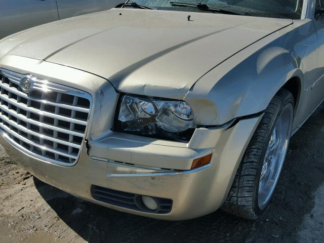 2C3JA53G55H566735 - 2005 CHRYSLER 300 TOURIN BEIGE photo 9
