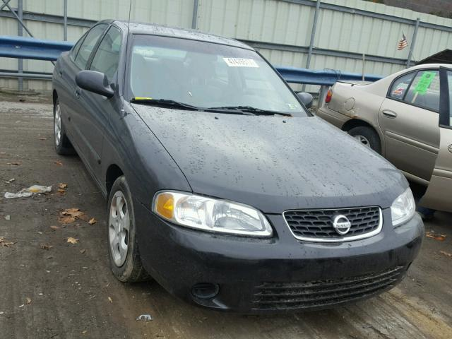 3N1CB51D03L702903 - 2003 NISSAN SENTRA XE BLACK photo 1