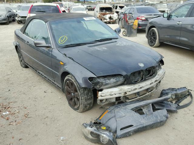 WBABW33416PX84404 - 2006 BMW 325 CI GRAY photo 1