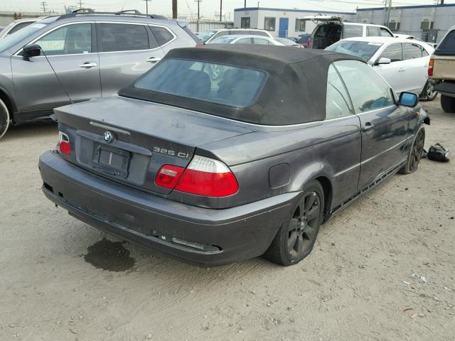 WBABW33416PX84404 - 2006 BMW 325 CI GRAY photo 4