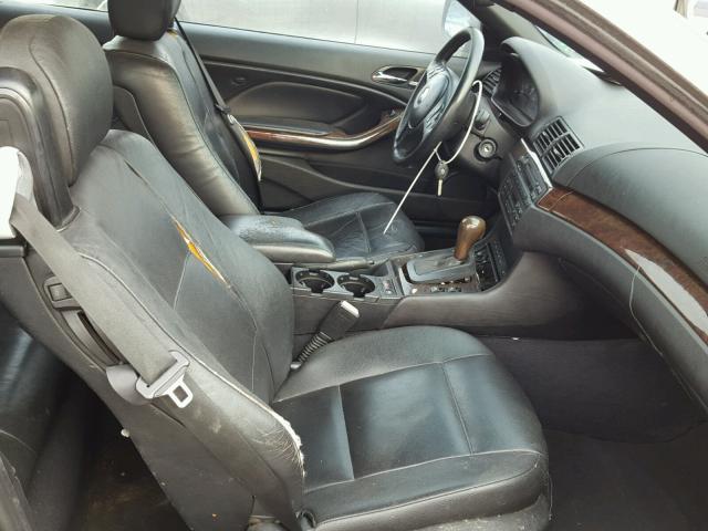 WBABW33416PX84404 - 2006 BMW 325 CI GRAY photo 5